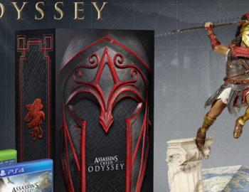 Assassin's Creed Odyssey z masą kolekcjonerskich wydań i figurek