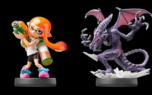 Nowe figurki amiibo z Super Smash Bros. Ultimate i Splatoon 2
