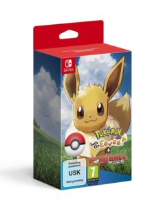Pokémon: Let's Go! Eevee + Poké Ball Plus