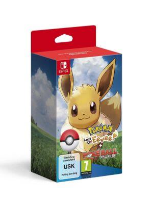Pokémon: Let's Go! Eevee + Poké Ball Plus