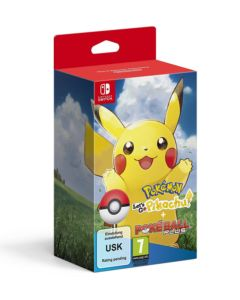 Pokémon: Let's Go! Pikachu + Poké Ball Plus