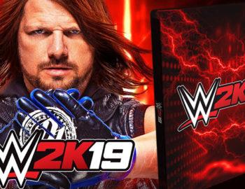Steelbook z WWE 2K19 jako bonus w przedsprzedaży