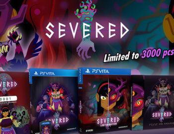Zapowiedziano limitowane wydanie Severed na PS Vita