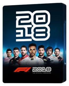 F1 2018 Steelbook