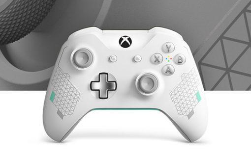 Microsoft zaprezentował nowy kontroler Xbox One Sport White Special Edition