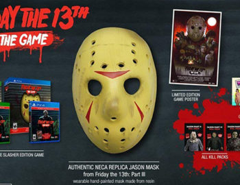 Friday the 13th: The Game w kolekcjonerskim wydaniu z maską Jasona