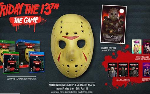 Friday the 13th: The Game w kolekcjonerskim wydaniu z maską Jasona
