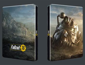 Druga wersja steelbooka z Fallout 76
