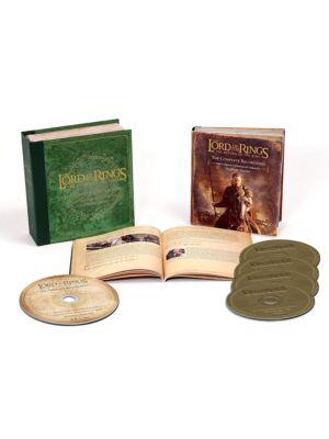 Władca Pierścieni: Powrót Króla ścieżka dźwiękowa 4CD + Blu-ray