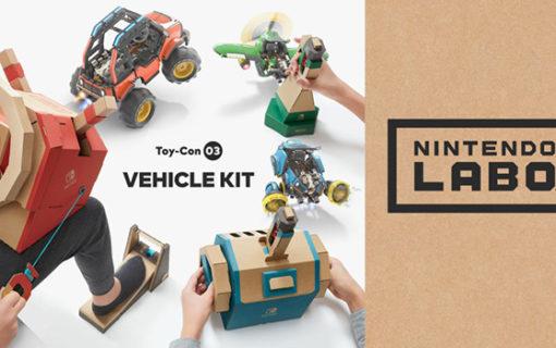 Nowy zestaw Nintendo Labo Vehicle Kit