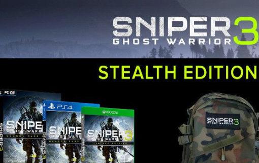 Sniper Ghost Warrior 3 Stealth Edition taniej w Konsoleigry.pl