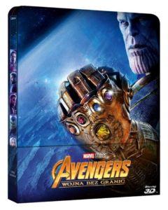 Avengers: Wojna bez granic Steelbook