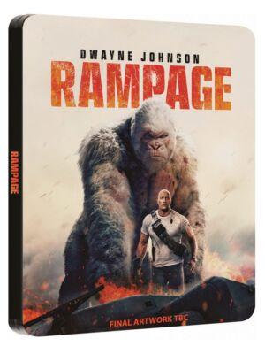 Rampage: Dzika furia Steelbook
