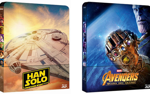 Steelbooki z Avengers: Wojna bez granic i Han Solo dostępne w Media Markt i Saturnie