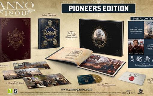 Anno 1800 w limitowanej edycji Pioneers Edition