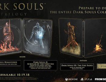 Steelbook z Dark Souls Trilogy zmierza na Playstation 4 i Xbox One