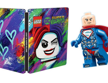 LEGO DC Super-Villains Złoczyńcy z minifigurką i steelbookiem