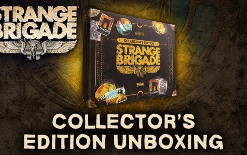 Oficjalny unboxing edycji kolekcjonerskiej Strange Brigade