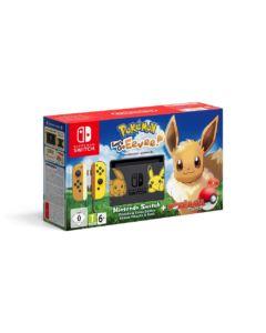 Nintendo Switch Pikachu & Eevee Edition zestaw z Pokémon: Let's Go! Eevee