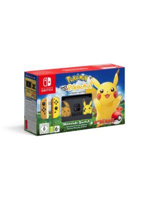Nintendo Switch Pikachu & Eevee Edition zestaw z Pokémon: Let's Go! Pikachu