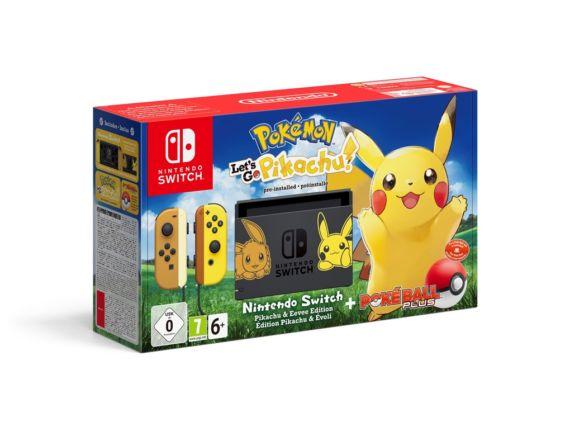 Nintendo Switch Pikachu Eevee Edition Zestaw Z Pokémon Lets Go