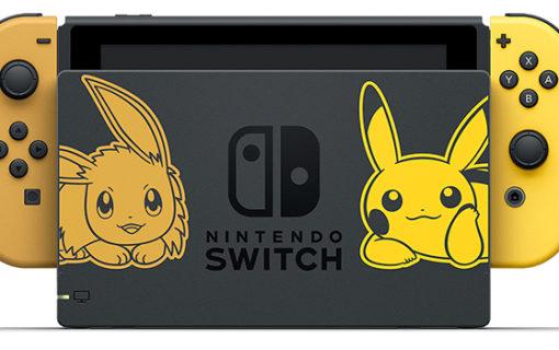 W listopadzie zadebiutuje limitowane wydanie konsoli Nintendo Switch Pikachu & Eevee Edition