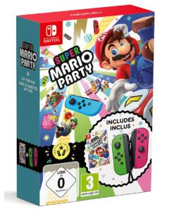 Super Mario Party + Joy-Con Pair Green/Pink