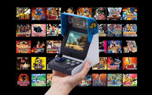 NEOGEO mini z datą premiery i ostateczną listą gier