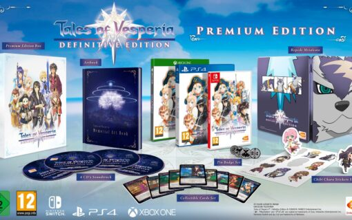 Tales of Vesperia: Definitive Edition z kolekcjonerką Premium Edition