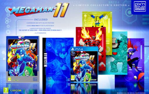 Pix'n Love wyda kolekcjonerską edycję Mega Man 11