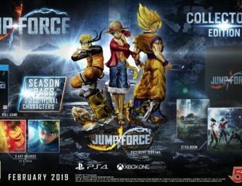 Bandai Namco zapowiedziało kolekcjonerską edycję Jump Force