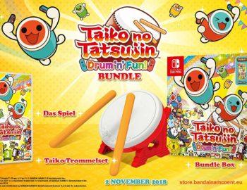 Taiko no Tatsujin: Drum'n'Fun! pojawi się na Starym Kontynencie w kolekcjonerskim zestawie z bębnem