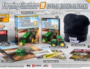 Edycja Kolekcjonerska Farming Simulator 19 dostępna w przedsprzedaży