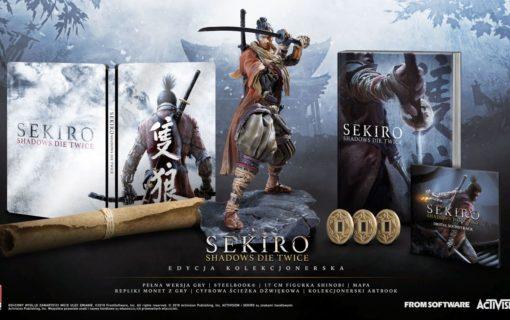 Kolekcjonerska edycja Sekiro: Shadows Die Twice na PC dostępna w Polsce