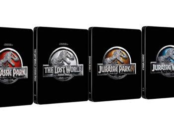 W październiku zadebiutują steelbooki z Player One, Czerwoną Jaskółką i Jurassic World