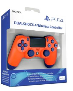 DualShock 4 Sunset Orange