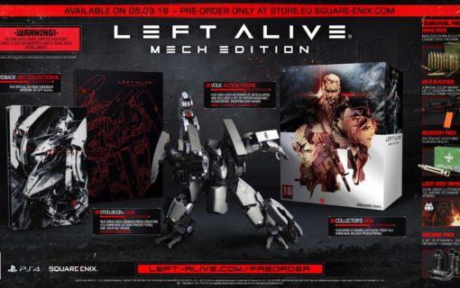 Left Alive zadebiutuje w marcu z edycją kolekcjonerską Mech Edition