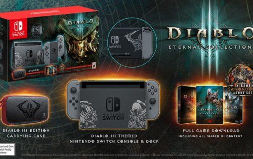 Nintendo zapowiedziało Nintendo Switch Diablo III Limited Edition