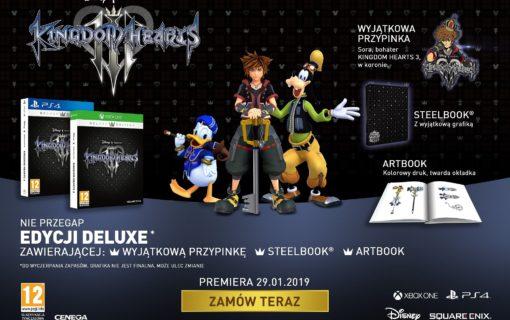 Wystartowała przedsprzedaż specjalnej edycji Kingdom Hearts III w polskich sklepach