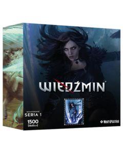 Puzzle Bohaterowie Wiedźmina seria 1 Yennefer