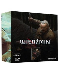 Puzzle Bohaterowie Wiedźmina seria 1 Vesimir