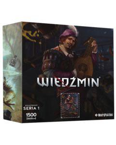 Puzzle Bohaterowie Wiedźmina seria 1 Jaskier