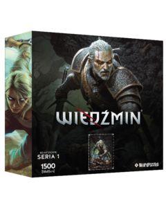 Puzzle Bohaterowie Wiedźmina seria 1 Geralt