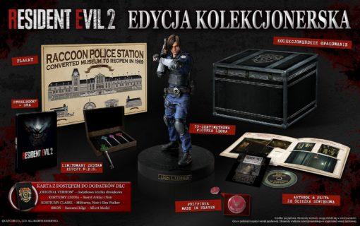 Ruszyła przedsprzedaż kolekcjonerki Resident Evil 2 w Polsce