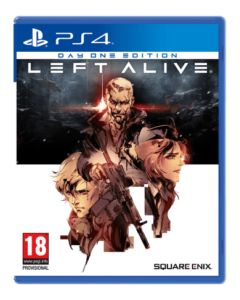 Left Alive Steelbook