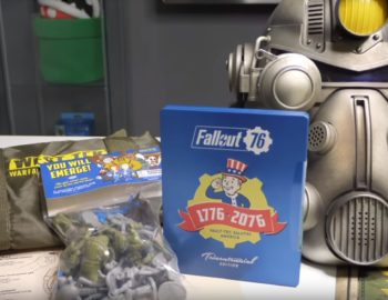 Fallout 76 Power Armour Edition na pierwszym unboxingu