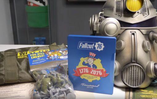 Fallout 76 Power Armour Edition na pierwszym unboxingu