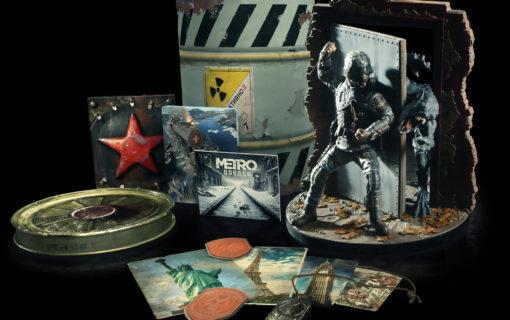 Zapowiedziano Metro Exodus Spartan Collector's Edition