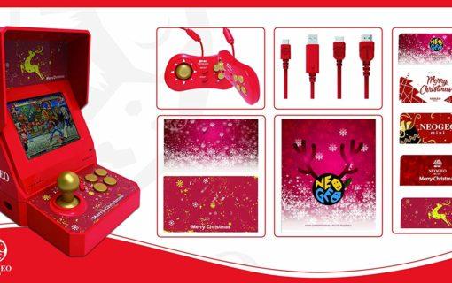 W grudniu zadebiutuje NEOGEO mini w świątecznej edycji
