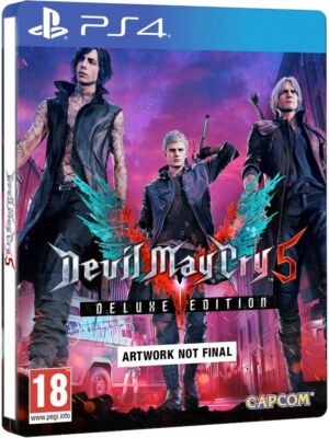 Devil May Cry 5 Deluxe Steelbook Edition